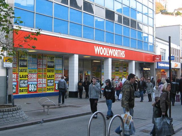 Woolworths Union Street Torquay