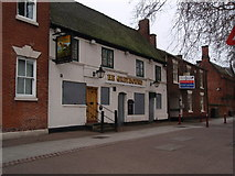 SK3436 : The Greyhound, Friars Gate, Derby by James Haynes