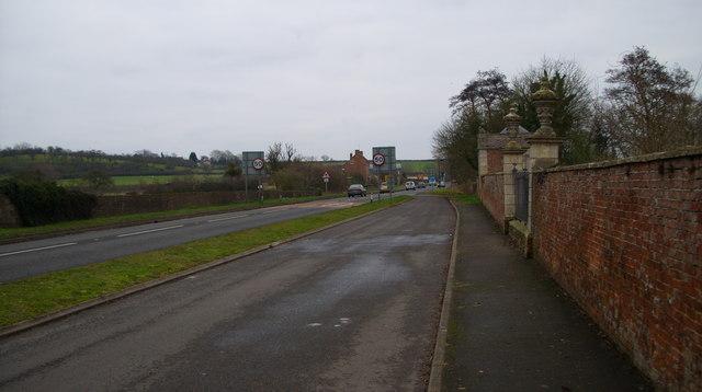 A48 near Westbury on Severn