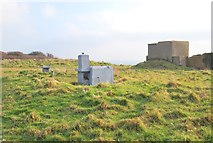 SX9456 : Bunker on Berry Head by Paul Hutchinson