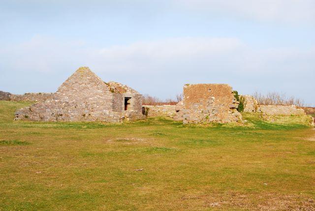 Fort buildings, Berry Head