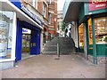 SZ0891 : Bournemouth: Dalkeith Steps by Chris Downer
