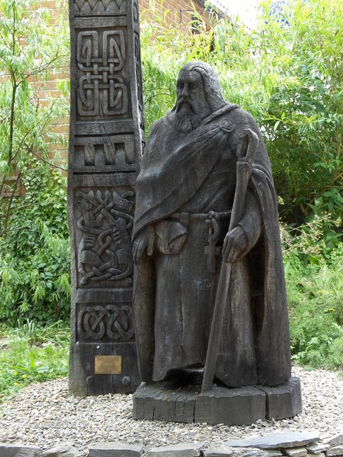 Statue of St Dogmael