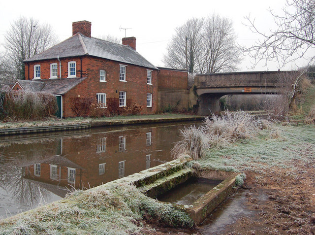Hatton, canalside house