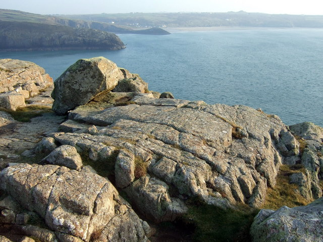View southeast from St David's Head