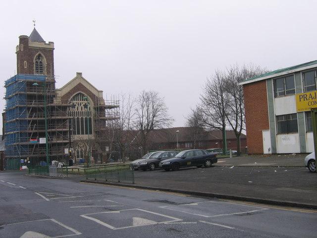 St Paul's Church, Lozells, Birmingham