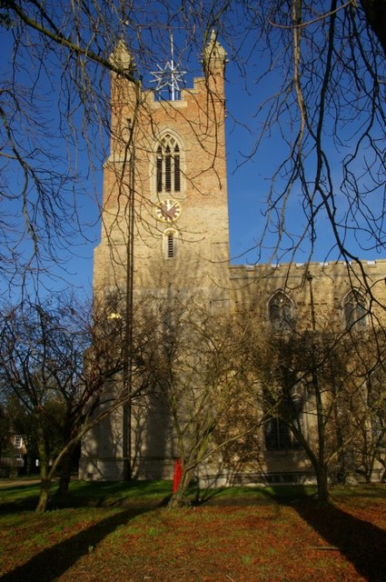 Cottenham church tower