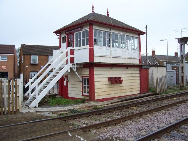 Oakham signal box