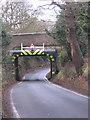 SO9871 : Vigo Bridge under the Lickey Incline, Hewell Lane, Burcot. by Roy Hughes