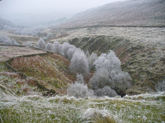 A cold day in Withens Clough