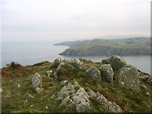 SH4094 : View East from the summit of the Torllwyn headland by Eric Jones
