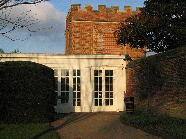 Tiltyard Cafe and tower, Hampton Court Palace