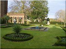 TL9925 : Colchester Castle Park Gardens by PAUL FARMER