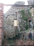 SH4094 : The lowest level of the silica bunker at Porth Wen brick works by Eric Jones