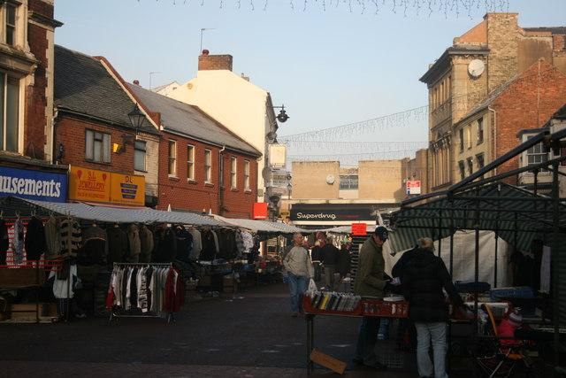 Willenhall market