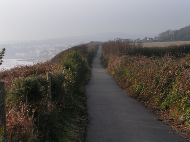Cycle path between Dawlish Warren and Dawlish
