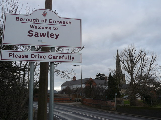 Welcome to Sawley, Derbys