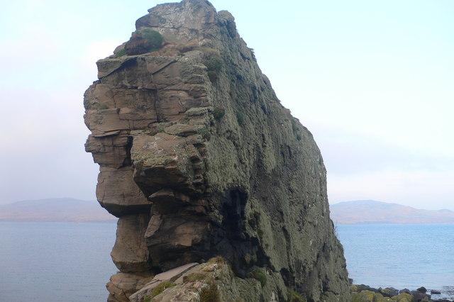 Basalt Dike, South-West Coast of Jura