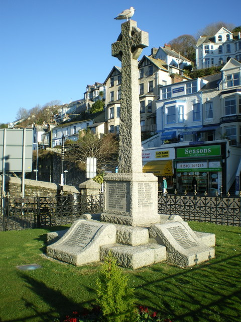 War memorial in East Looe