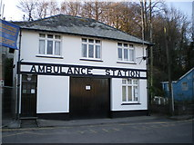 SX2553 : West Looe - the old Ambulance Station by Richard Law