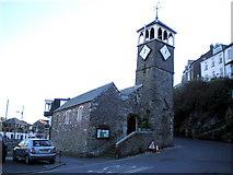 SX2553 : The church of St Nicholas, West Looe by Richard Law