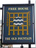 TQ3282 : Sign for The Old Fountain, Peerless Street, EC1 by Mike Quinn