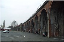 SO8455 : Viaduct Over The River Severn by Mr M Evison