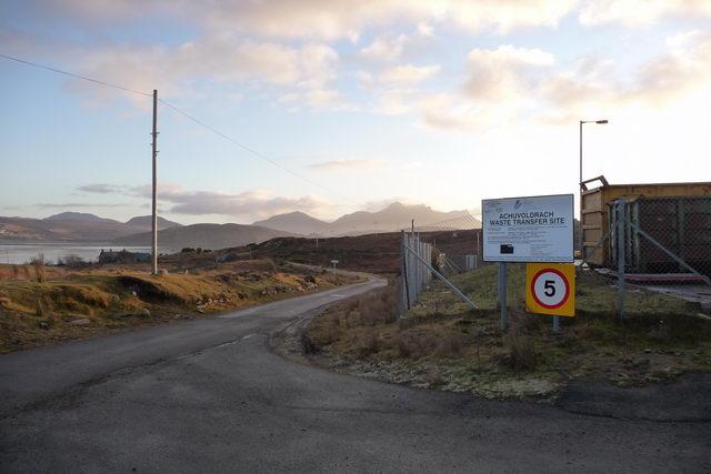Achuvoldrach waste transfer site.