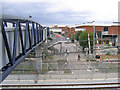 TQ4982 : Footbridge superseding a level crossing by Stephen Craven