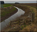 TA2228 : Burstwick Drain near Hall Bridge by Paul Harrop