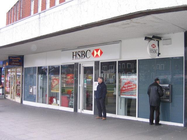 HSBC Bank Acocks Green 40-11-01