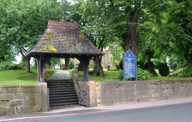 The Lych-Gate, St. Cuthbert's Church