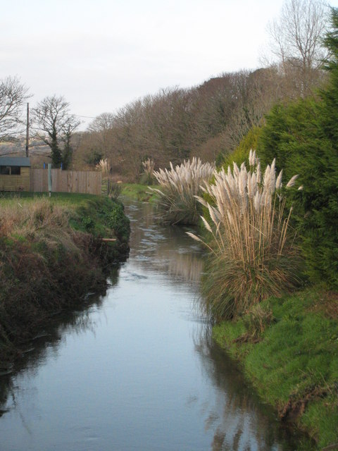 The River Hayle at Godolphin Bridge