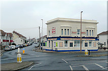 TQ1602 : The Half Brick and Ham Road, East Worthing by Roger  Kidd