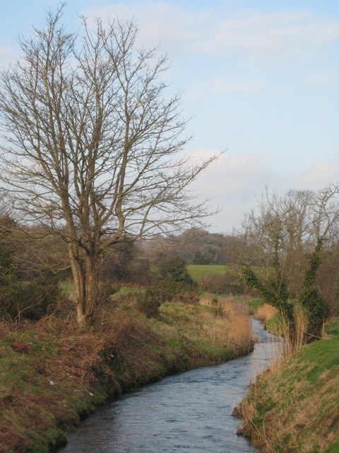 The River Hayle at Relubbus