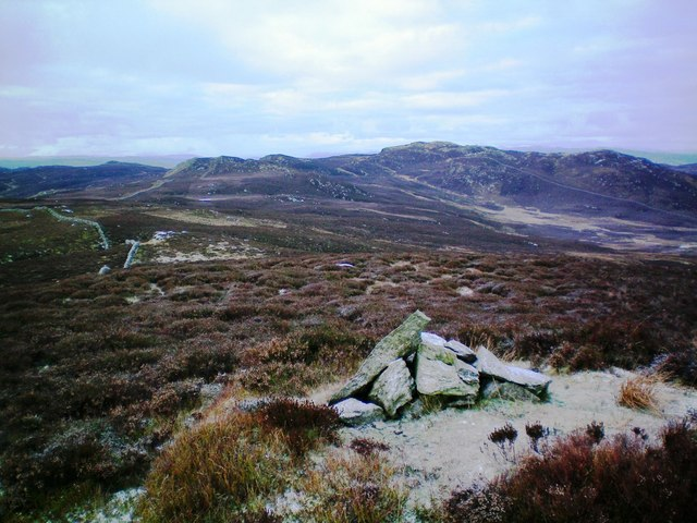 Creag nam Mial from Meall Dubh