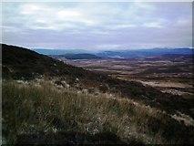 NO0256 : Meall Reamhar W ridge by Rob Woodall