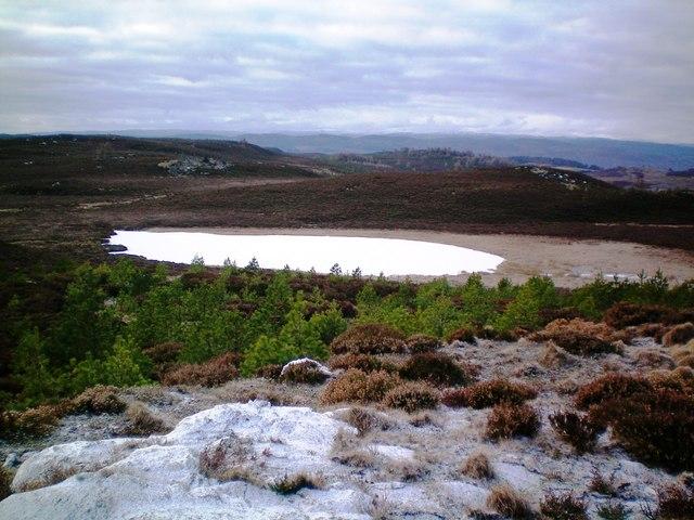 Loch na Brae from NE