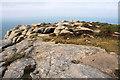 SW4137 : Bosigran Castle by Bob Jones