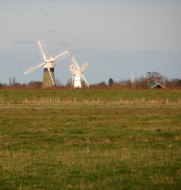 Two mills by the River Bure