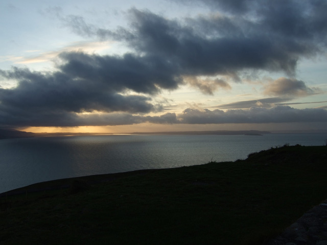 View of Anglesey from Great Orme