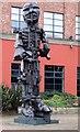 NZ2463 : Public artwork on Forth Street by Thomas Nugent
