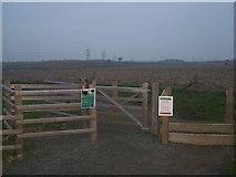 TQ6668 : Bridleway entrance to Jeskyns by David Anstiss