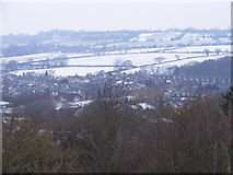 SO9194 : Snowy Estate by Gordon Griffiths