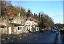 SE1307 : The Victoria, Woodhead Road, Holmfirth by Humphrey Bolton