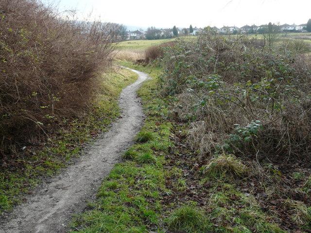 Path between Royshaw Avenue and  Carham Road