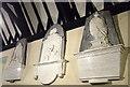 SM9628 : Tucker-Edwardes memorials in St Dogfael's by ceridwen