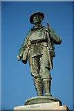 SP0343 : War Memorial, Evesham by Philip Halling