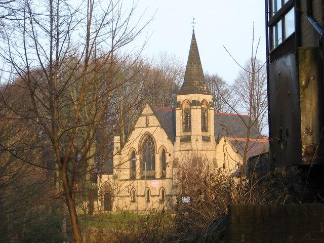Bolsover - Church on Hill Top