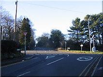 SO9975 : Crossroads, Lickey outside Holy Trinity Church by Roy Hughes